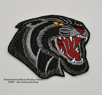 Black Panther Patch on shirt