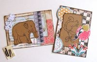 ATCs Elephant and Squirrel