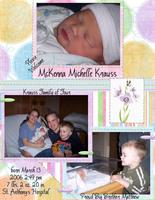 McKenna's Birth Announcement