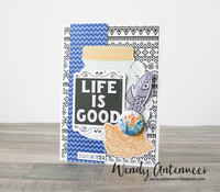 Life Is Good - February card