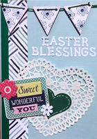 Easter Blessings (March 2018 Card Challenge)