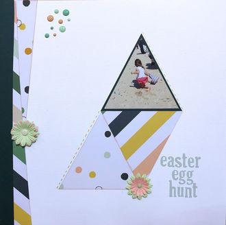 easter egg hunt (March 2018 Color and Shape Challenge)