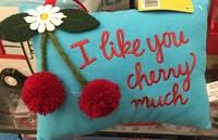Cherry pillow
