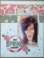 spring has sprung  march patterned paper challenge