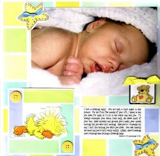 Suzy's Zoo Challenge-Sleeping Baby