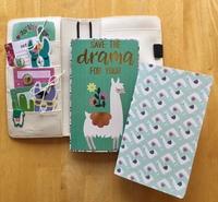 Llama Traveler's Notebook