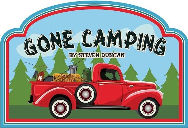 Gone Camping Carta Bella Echo Park Steven Duncan