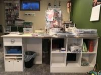 Messy Scrap Room