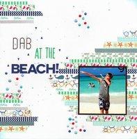 Dab at the Beach