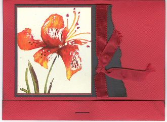 matchbook card