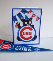 Birthday Card Chicago Cubs