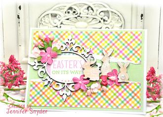 Hoppy Easter - Bunny Cards