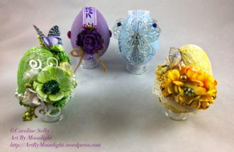 Flowering Easter Eggs