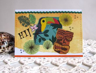 Note Card Toucan
