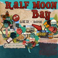 Half Moon Bay - food