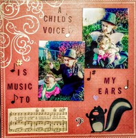 A Child's Voice is Music to my Ears