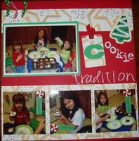 Cookie Traditions- Challenge #1