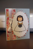 Bridal Shower card spring colors