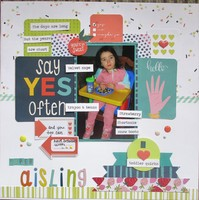 Say Yes Often - April GD #4 Example