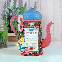 Alice In Wonderland Tea Kettle