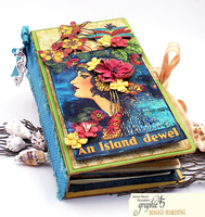 Tropical Travelogue Notebook By G45 Designer