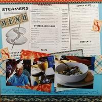 Steamers Menu