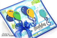 Dimensional Birthday Card