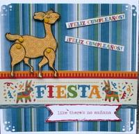Fiesta Like There's No Manana 6x6 card