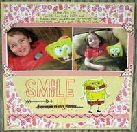 Smile like SpongeBob