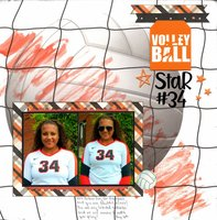 Volleyball Star #34