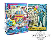 Birthday Card Folios By Authentique Designer