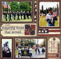 Honoring those that served (As seen in Jo-Ann ScrapEssentials Idea Book - Vol 2)