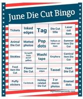 June Die Cut Challenge