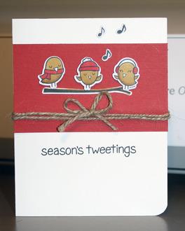 Season's Tweetings GD #4 Nailed it!