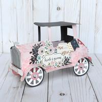 3D Vintage Car