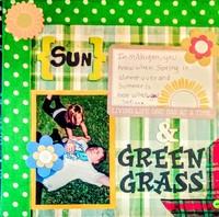 Sun & green grass