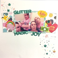 Glitter magic joy
