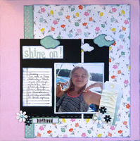 shine on! (June 2018 Becky Fleck Sketch #137 and Mood Board Challenges)