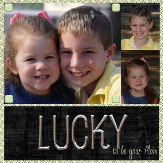 Challenge 5: Lucky to be your Mom