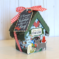 Dog House Treat Box