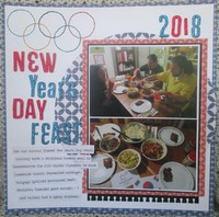 New Year's Day Feast 2018