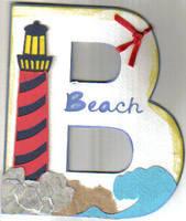 Beach Monogram!