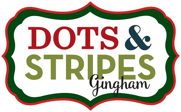 Dots & Stripes Gingham Christmas Echo Park