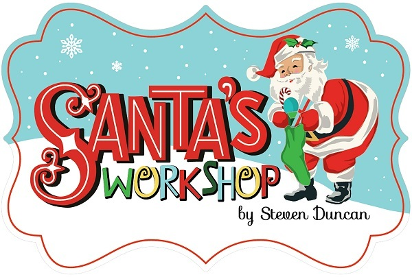 Santas Workshop Carta Bella Santa's Workshop