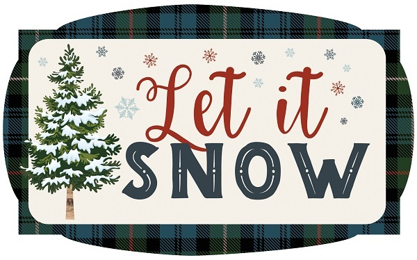 Let It Snow Carta Bella