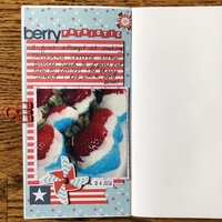 Travelers Notebook - Berry Patriotic