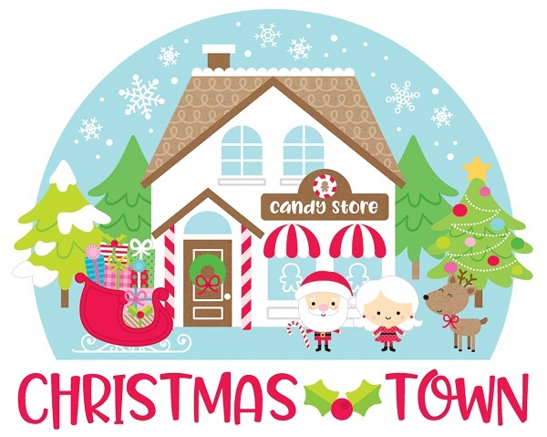 Christmas Town.Doodlebug Christmas Town A Cherry On Top