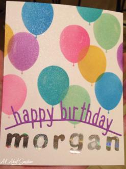 Colorful Birthday Balloons!