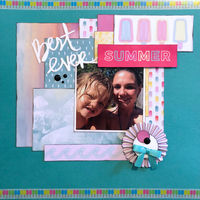 Best Ever Summer (July 2018 Pattern Paper Challenge)