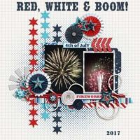 Red, White & Boom